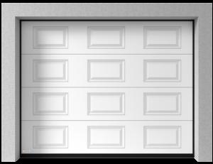 sekční vrata typ K2 RA - kazeta