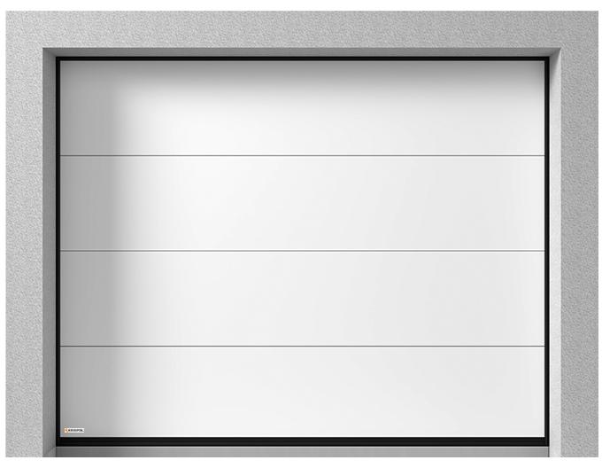 sekční vrata K2 RFS - 60
