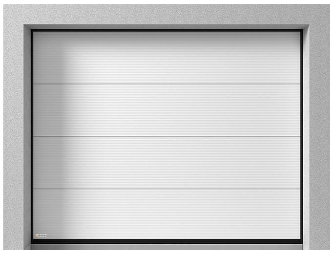 Sekční vrata K2 RM - V profil